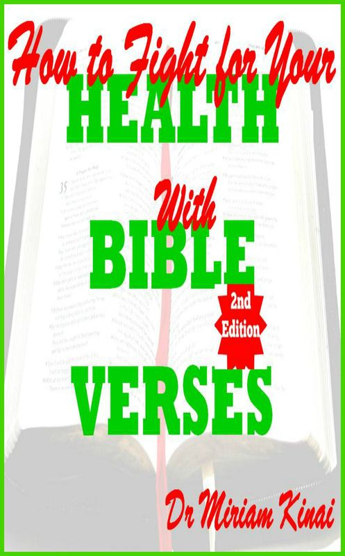 Product picture How to Fight for your Health with Bible Verses 2nd Edition