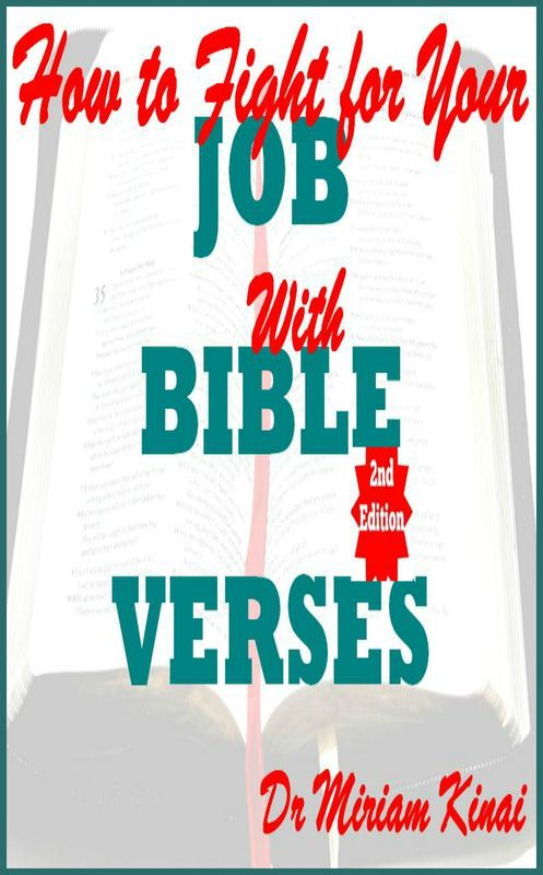 Product picture How to Fight for your Job with Bible Verses 2nd Edition